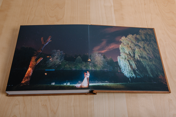 layflat wedding photobook