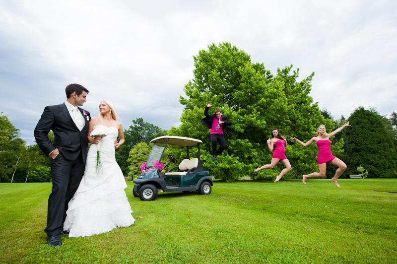 poročni portret v arboretum volčji potok