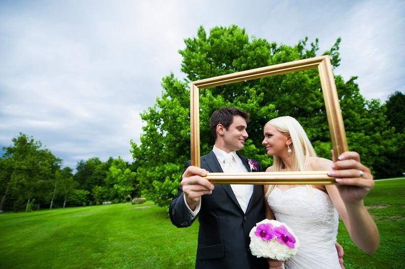 poročni portret mladoporočencev arboretum