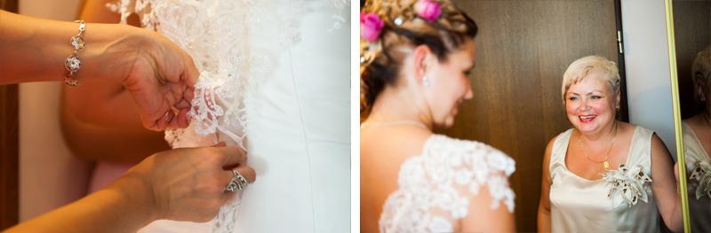 podrobnosti poročne obleke